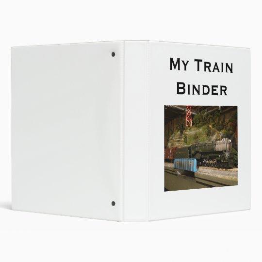 My Train Binder