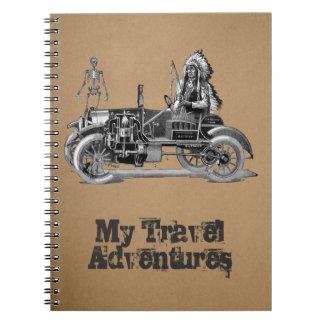 My travel adventures notebooks