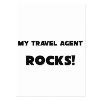 MY Travel Agent ROCKS! Postcards