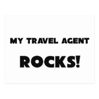 MY Travel Agent ROCKS Postcard