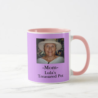 My Treasured Pet-Mom Mug