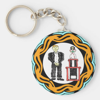 My Trophy Wife Keychain