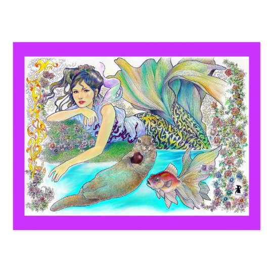 my tropical fantasia postcard