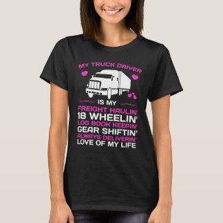 My Truck Driver Freight Haulin' Log Book Keepin' T-Shirt