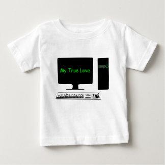 My True Love- My Computer Baby T-Shirt