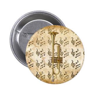 My Trumpet_ Pinback Button