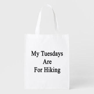 My Tuesdays Are For Hiking Market Tote