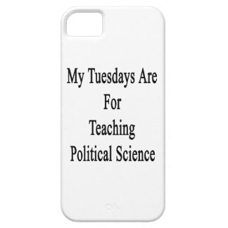 My Tuesdays Are For Teaching Political Science iPhone 5 Covers