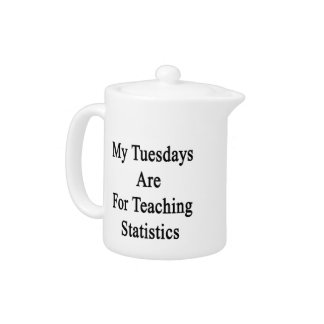 My Tuesdays Are For Teaching Statistics