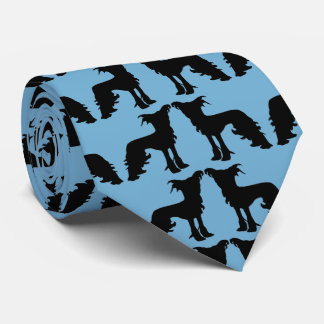 My Two Chinese Crested Dogs Tie