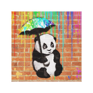 My Umbrella Canvas Print