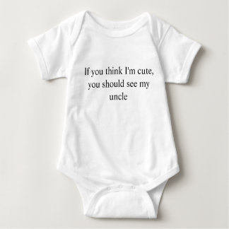 My Uncle Baby Bodysuit