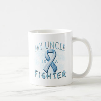 My Uncle is a Fighter Light Blue Coffee Mug