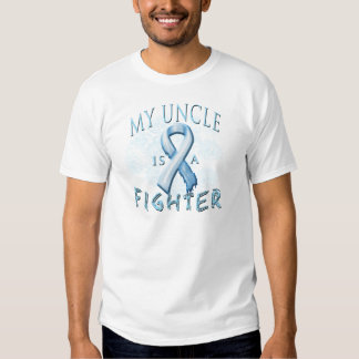 My Uncle is a Fighter Light Blue T Shirt