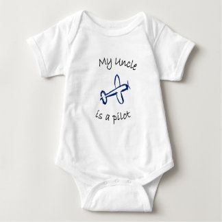 My Uncle is a Pilot Baby Bodysuit