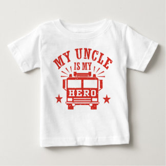 My Uncle Is My Hero Baby T-Shirt