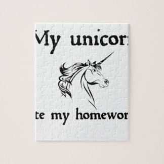 my unicorn ate my home work jigsaw puzzle