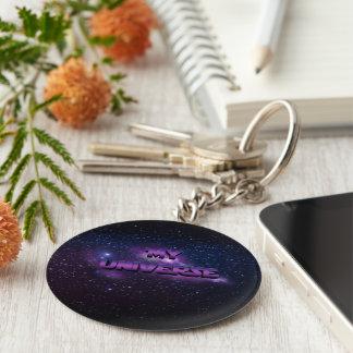 My Universe Basic Round Button Keychain