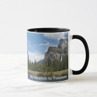 My Vacation in Yosemite  Mug