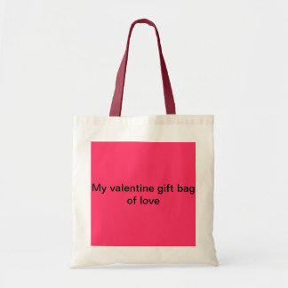 My valentine gift bag of love