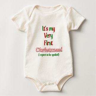 My very fist Christmas Baby Bodysuit