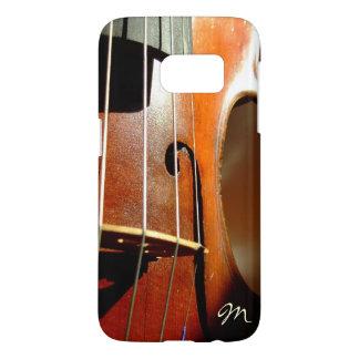 My Violin Case Monogram Music Galaxy S7 Case