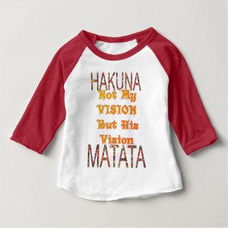 My Vision African Vintage Colors Hakuna matata Baby T-Shirt