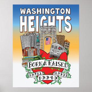 MY WASHINGTON HEIGHTS POSTER