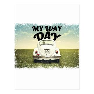 My Way Day - Appreciation Day Postcard