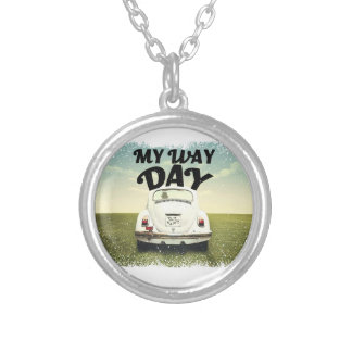 My Way Day - Appreciation Day Silver Plated Necklace