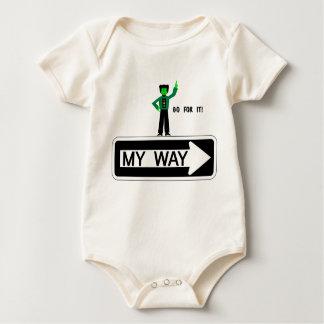 My Way - Go For It! Baby Bodysuit