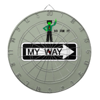 My Way - Go For It! Dartboard