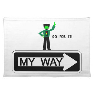 My Way - Go For It! Placemat