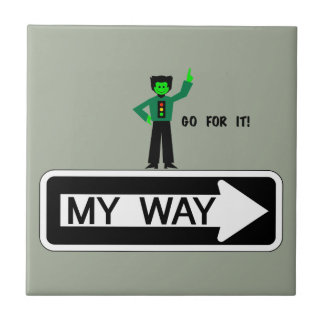 My Way - Go For It! Tile