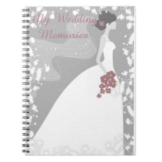 My Wedding Memories Notebook