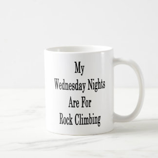 My Wednesday Nights Are For Rock Climbing Coffee Mug