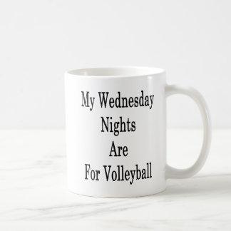 My Wednesday Nights Are For Volleyball Coffee Mug