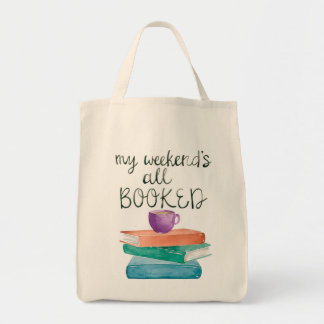 My Weekend's All Booked Tote