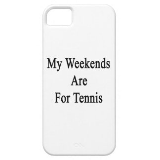 My Weekends Are For Tennis iPhone 5 Cases