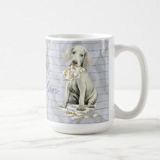 My Weimaraner Ate my Lesson Plan Coffee Mug