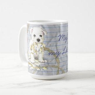 My Westie Ate my Lesson Plan Coffee Mug