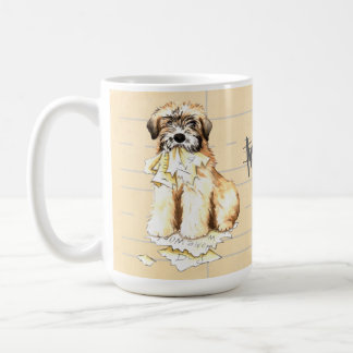 My Wheaten Ate My Homework Coffee Mug