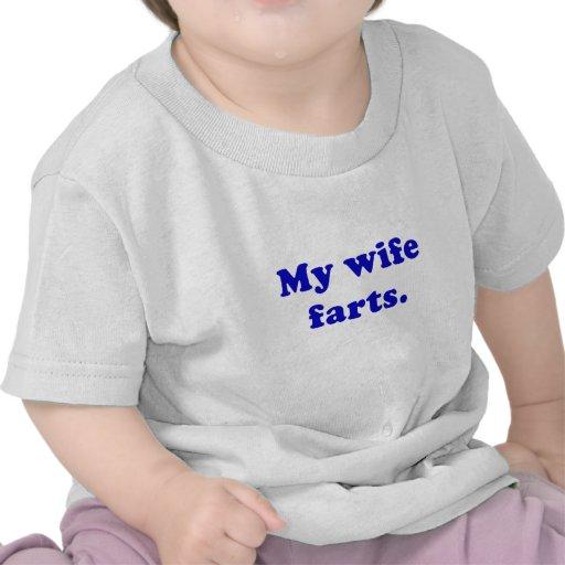 My Wife Farts Tee Shirt