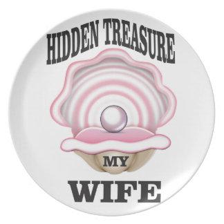 my wife hidden treasure yeah plate
