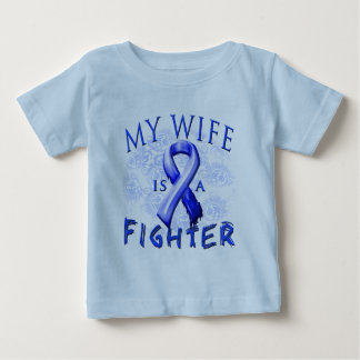 My Wife Is A Fighter Blue Shirt