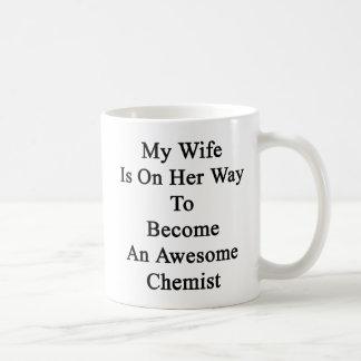 My Wife Is On Her Way To Become An Awesome Chemist Coffee Mug