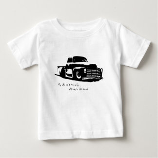 My wife isn't the only old bag on this truck t-shirts