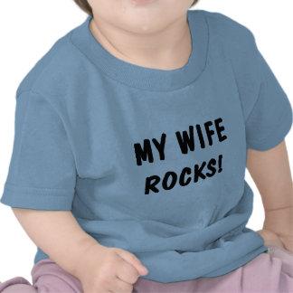 My Wife Rocks T-shirts