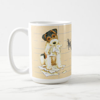 My Wire Fox Terrier Ate My Homework Coffee Mug
