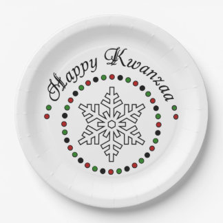 My Wish Kwanzaa Party Paper Plates